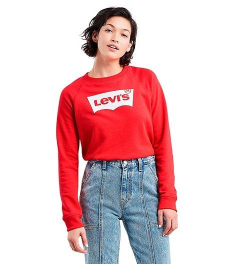 52fcbe4ab4c76 Levi s Women s Graphic Classic Crew Sweatshirt
