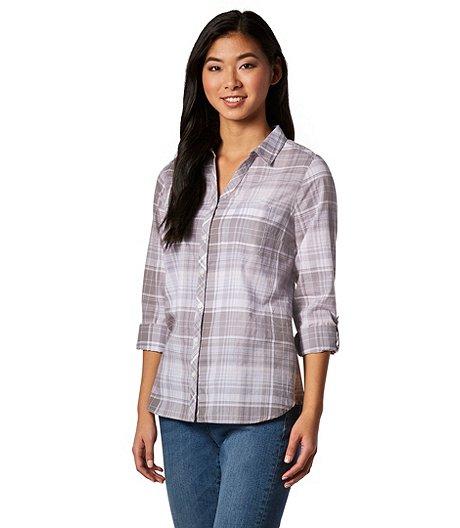 6a1d69f87270c Denver Hayes Women s Long Sleeve Plaid Shirt