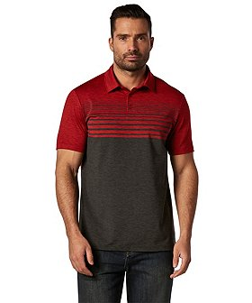 Matrix Men's driWear Spacedye Stripe Polo