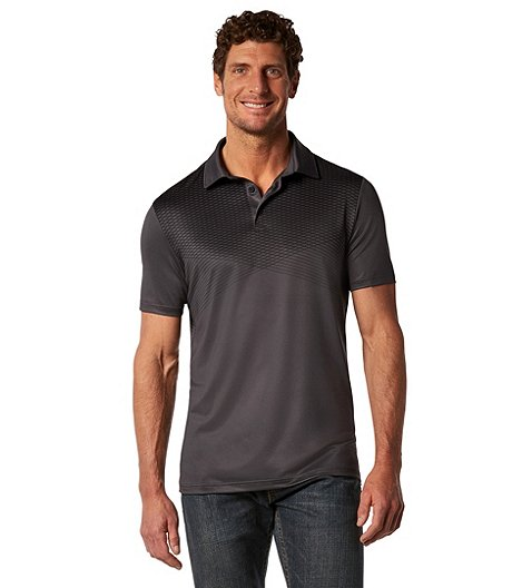 Matrix Men's driWear Grid Graphic Polo