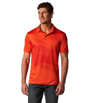 Matrix Men's driWear Twisted Graphic Polo