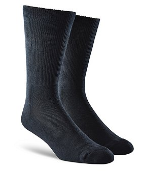 Wel-max Men's 2-Pack Bioceramic Casual Socks
