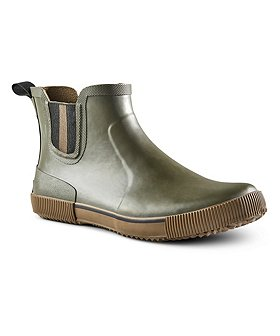 WindRiver Men's Convoy Slip-On Duck Boots Wide - Olive
