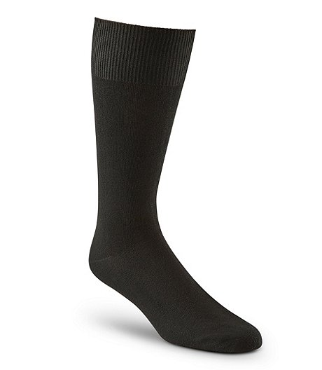 Wel-max Men's Bioceramic Flat Knit Casual Socks