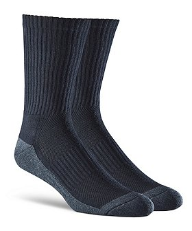 Wel-max Men's 2-Pack Bioceramic Crew Sport Socks
