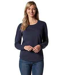 1f58ac9dc Denver Hayes Women s Slub Sweatshirt ...