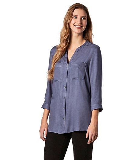 2a06e62bf4c Denver Hayes Women's Button-Up Shirt