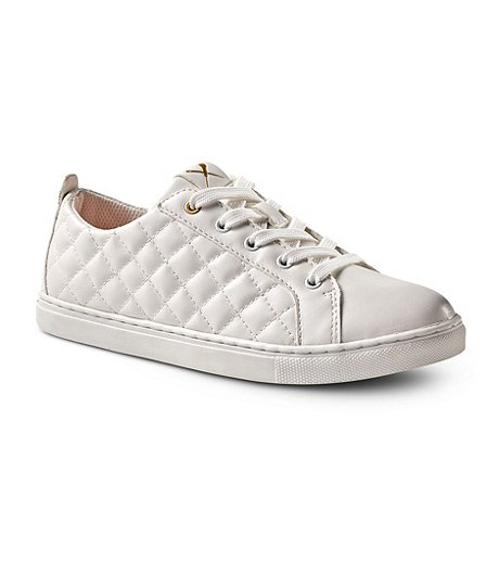 c552d3f8ed8349 WOMEN'S KATE LACE-UP QUILTED SNEAKERS | Mark's