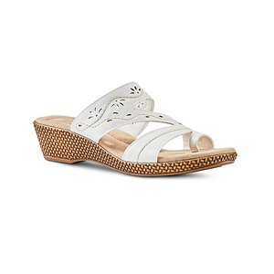 Women S Chelsea Quad Comfort Microwedge Sandals Mark S