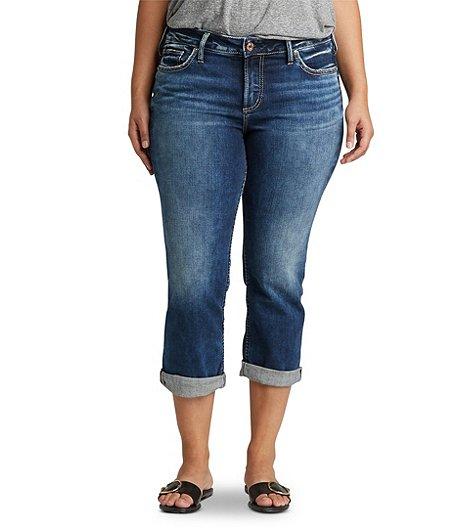 af89de8ab6c66 Silver® Jeans Co. Women s Suki Capris - Plus Size