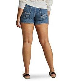 d1622c7650b Women s Boyfriend Shorts Silver® Jeans Co. Women s Boyfriend Shorts