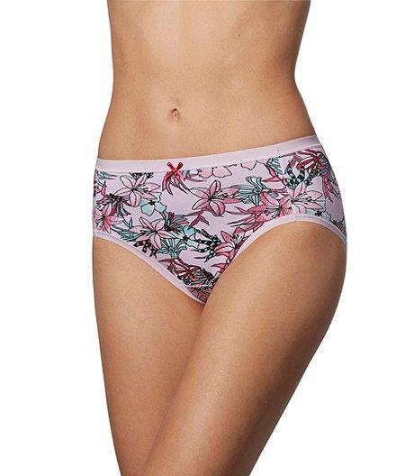 ecfc2eb9fa40 Denver Hayes Women's 2-Pack Perfect Fit Cotton Stretch Hi-Cut Panties
