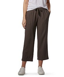 b27f78e7da86 Denver Hayes Women s Linen Crop Pants ...