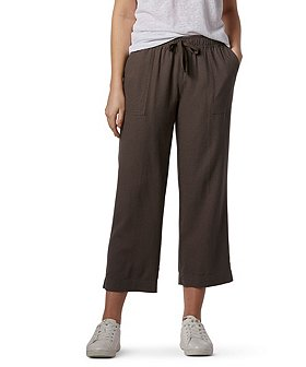 Denver Hayes Women's Linen Crop Pants