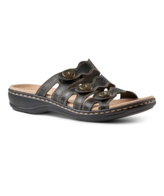 6afb19e713e Women s Leisa Grace 3 Strap Slide Sandals