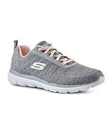 3d57e0836d6 Skechers Women s Flex Appeal 3.0 Lace-Up Shoes ...