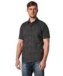f438691a Denver Hayes Men's Short Sleeve Untucked Shirt - Modern ...