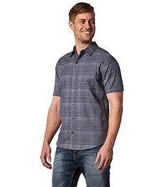 16aa6dd001 Denver Hayes Men s Short Sleeve Untucked Shirt ...