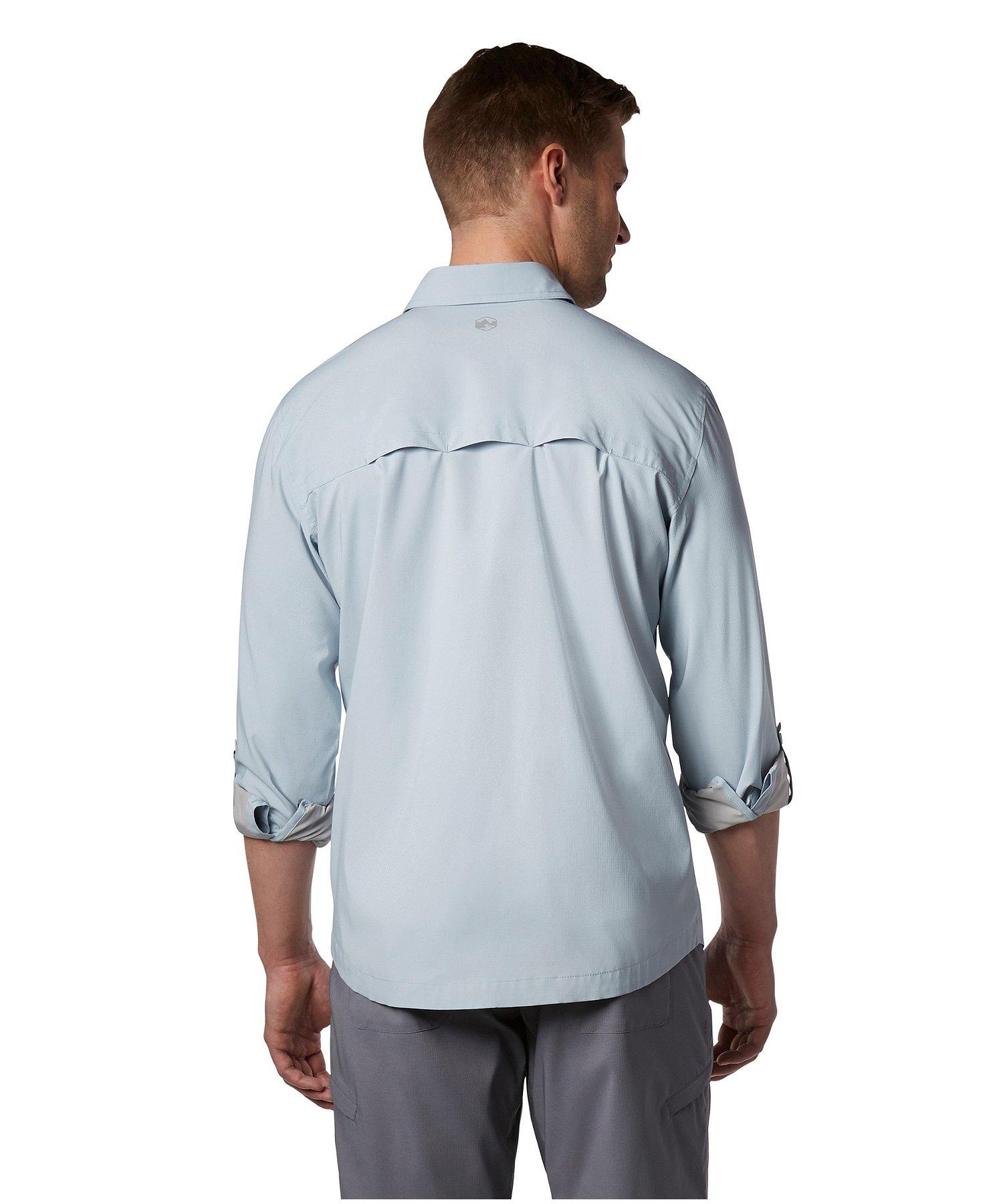sélectionner pour le dédouanement Braderie matériaux de haute qualité Chemise chasse-moustiques à manches longues, No Fly Zone, pour hommes