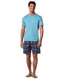 17506be0c66c Denver Hayes Men's Woven Short And T-Shirt Lounge Set ...