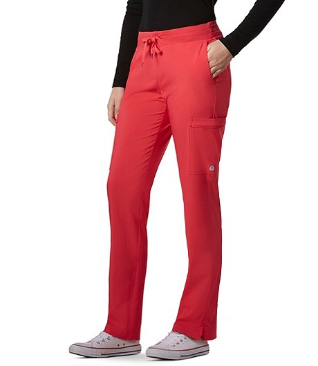 c254cc24019 Scrubletics Women's Solid Scrub Pants