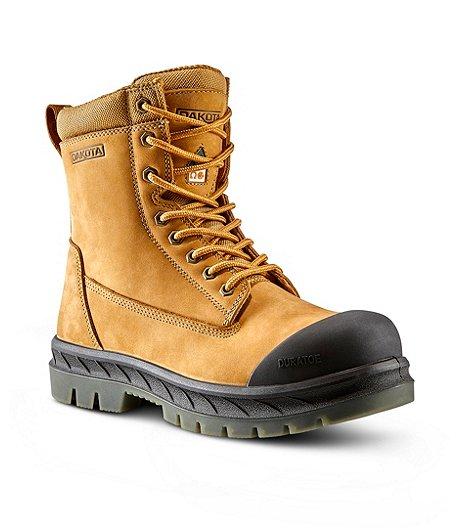 f61f5278cbf Men's Dakota 8518 8 Inch Steel Toe Steel Plate Safety Work Boot