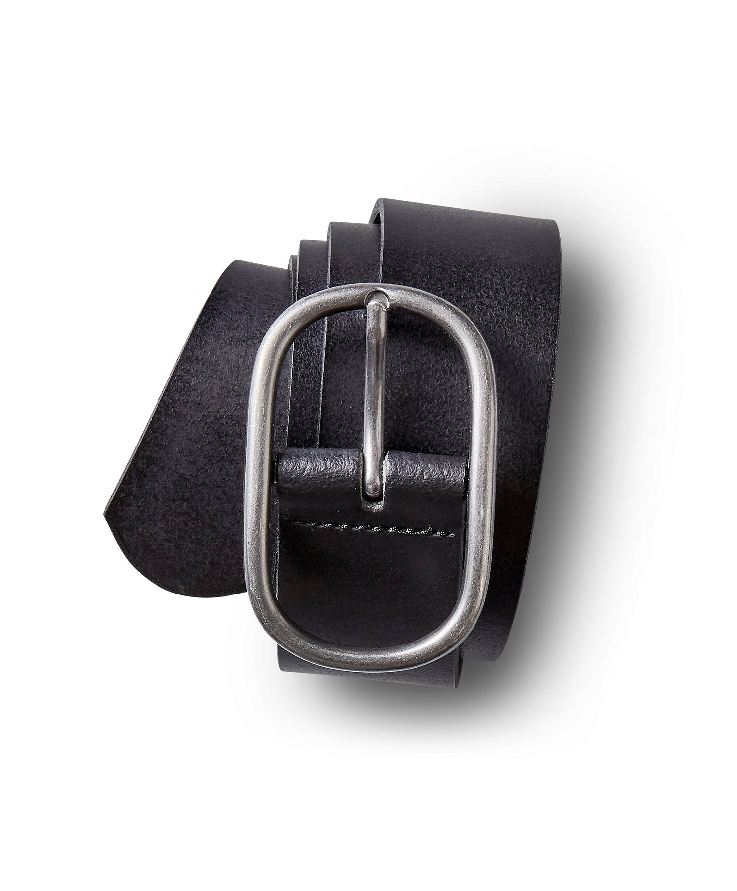 Men Fashion Belt Split Leather Italian Design Casual Jeans Buckle Accessories