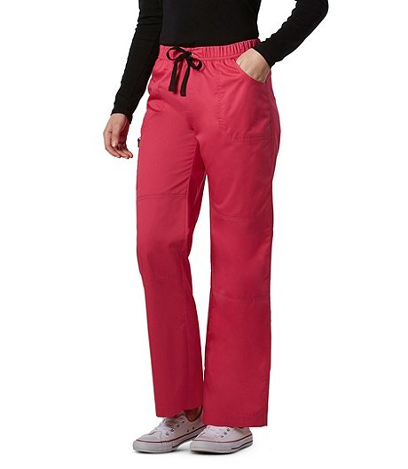 3e8b8a75d8b HEALTH PRO Women's Pro Flex Cargo Scrub Pants