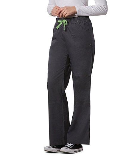 f3d73e64e10 HEALTH PRO Women's Pro Flex Cargo Scrub Pants