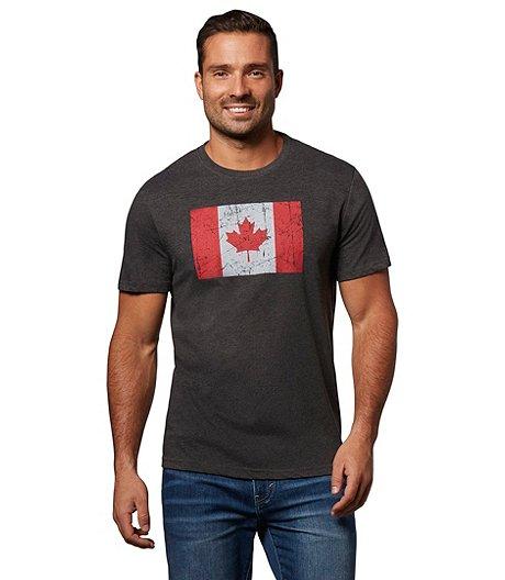 96e1a76c Logo T-Shirt Men's Jumpstart Canada Flag Graphic T-Shirt
