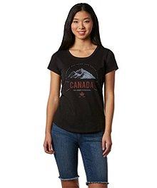 92142dd22 Logo T-Shirt Women's Canada Day T-Shirt ...