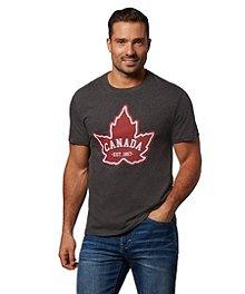 77349785 Logo T-Shirt Men's Jumpstart Canada Est 1867 Graphic T-Shirt ...