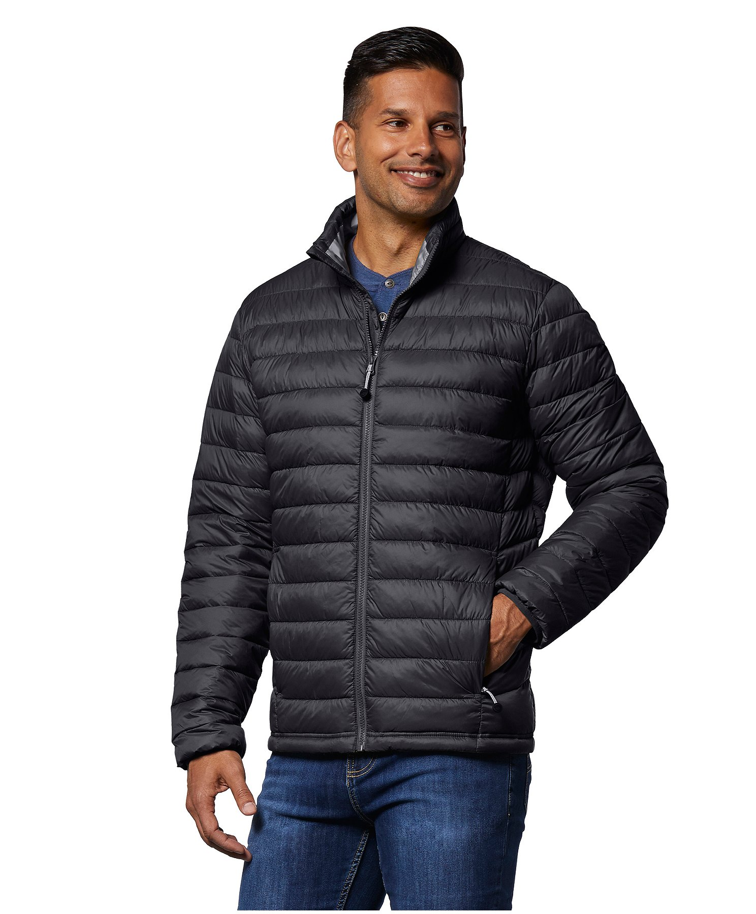 WindRiver Men's T-Max Water Repellent HD1 Puffer Jacket