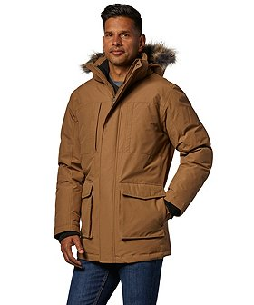 Denver Hayes Men's Water Resistant HD2  Winter City Parka