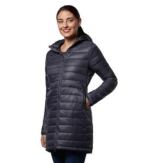 WindRiver Women's Light Weight T-Max Water Repellent HD1 Embossed Jacket