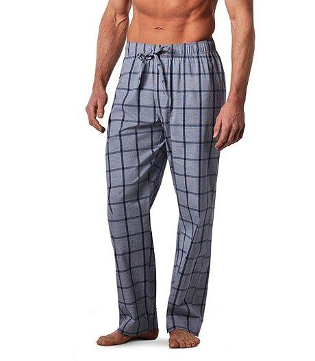 12dc1e78 Denver Hayes Men's Chambray Lounge Plaid Pants