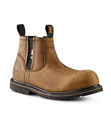 a3443ed106 Timberland PRO Men's Timberland Pro Millworks Chelsea 6 Inch Composite Toe  Composite Plate ...
