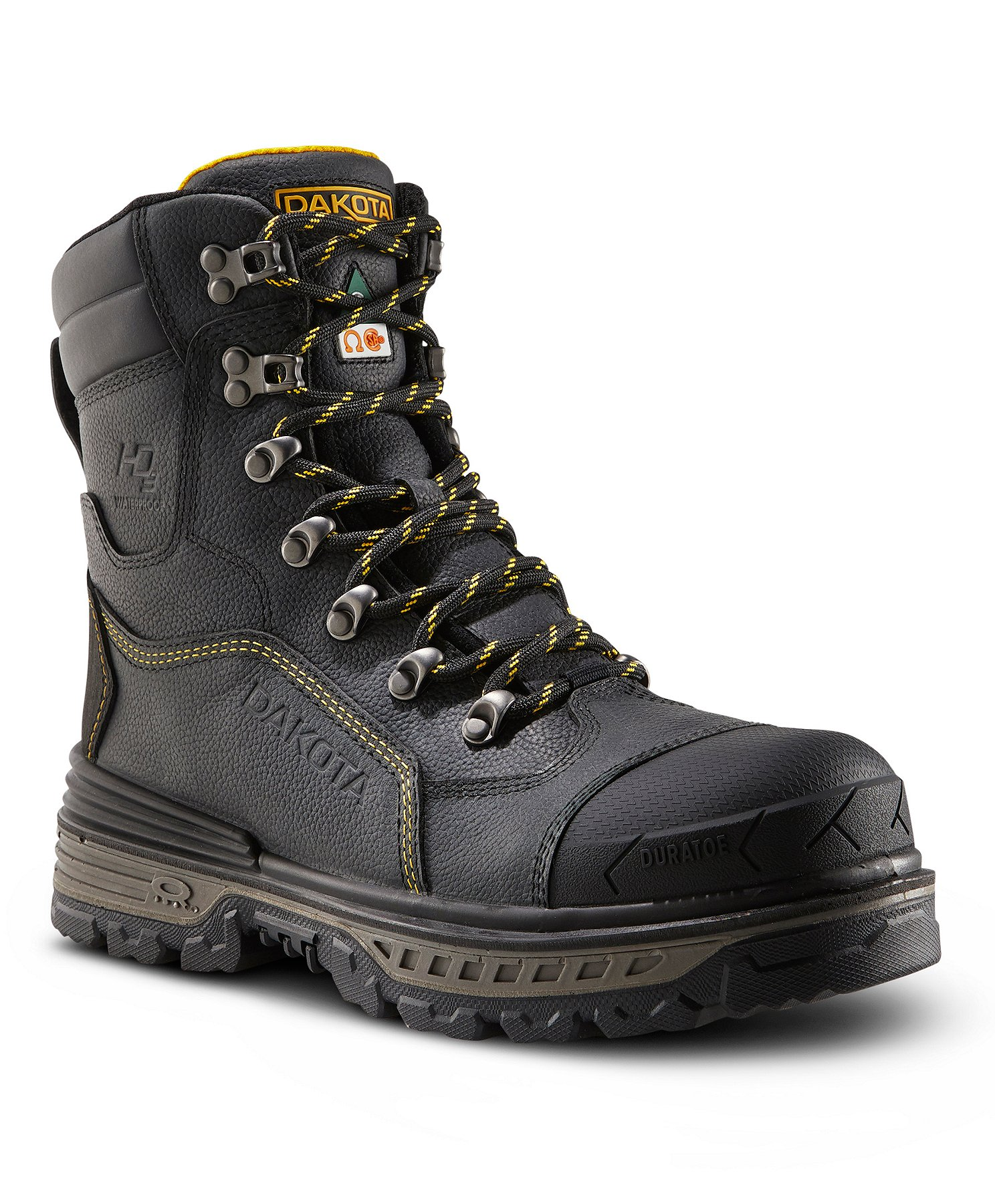 Men's 8516 8 In Composite Toe Compostie Plate HD3 Waterproof Safety Work  Boots | Mark's