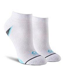 cd272fdda Shambhala Women's 2-Pack Quad Comfort Microfiber Low Cut Socks ...