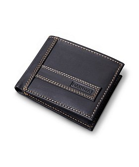 Dakota Men's Slim Fold Leather Wallet