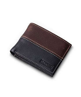 Dakota Men's Bifold Pebbled Wallet With Pull Out ID Wallet