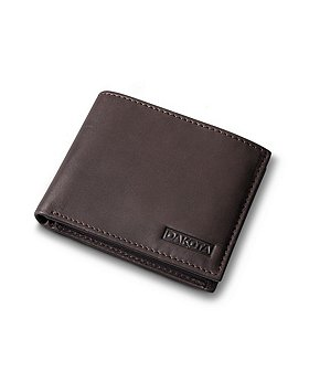 Dakota Men's Passcase With Removable ID Leather Wallet