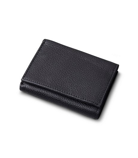 Men's Trifold Leather Wallet