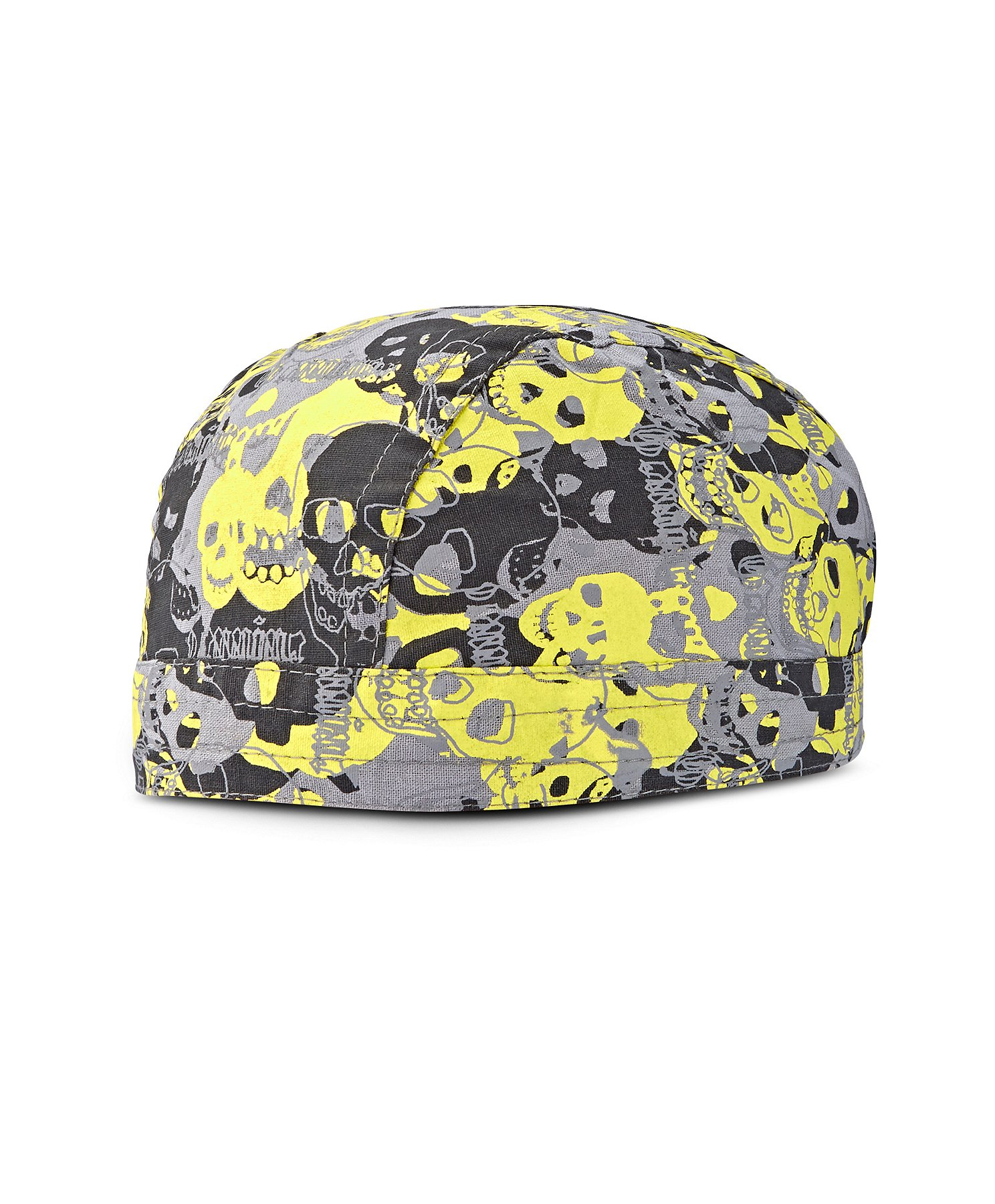 Bandana Fitted Skull on Fire