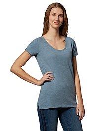 da6d71969016 Denver Hayes T-shirt artisanal flammé avec encolure en V échancrée pour  femmes ...