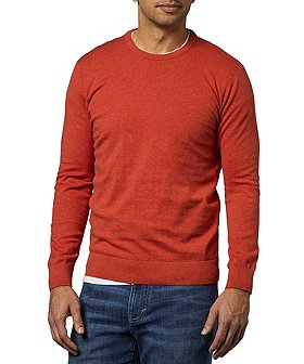 Denver Hayes Men's Soft Cotton Crew Neck Sweater
