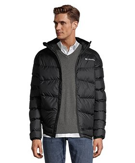 Columbia Men's Five Mile Butte Hooded Jacket