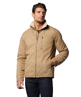 Denver Hayes Men's Cotton Sherpa Lined Water Repellent HD1 Jacket