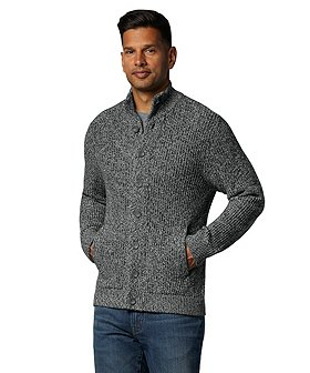Denver Hayes Men's Shaker Button Cardigan