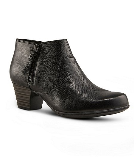 Women's Valarie Sophia Low Boots - Black